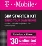 T-Mobile's 100 Voice, Unlimited Text and Data With 5GB LTE $30 Prepaid Wireless Plan Now on Sale