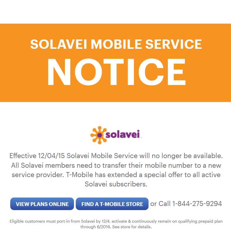 Solavei Shutting Down December 4th - BestMVNO