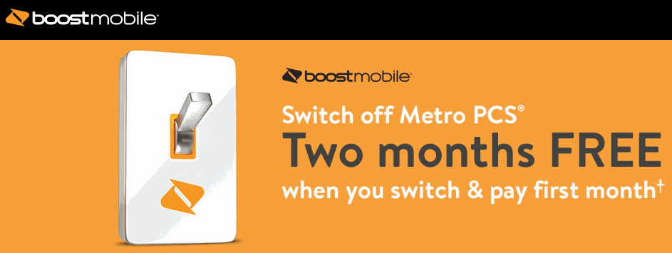 Boost Mobile Giving Away 2 Months Of Free Service When You