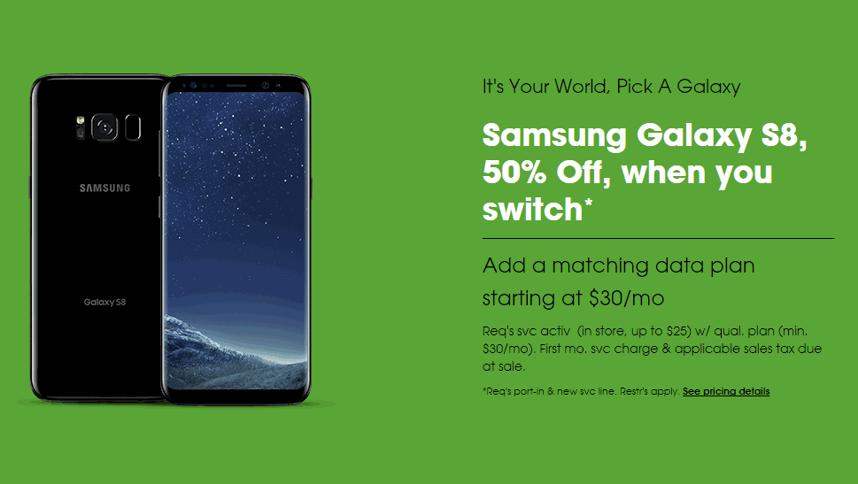 Cricket Wireless Selling The Samsung Galaxy S8 For Just