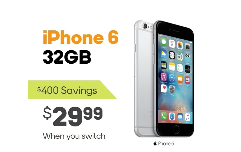 Boost Mobile Now Offering iPhone 6 For $29 99, Free LG Stylo